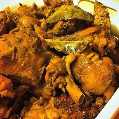 Poulet à la Philippine et porc adobo
