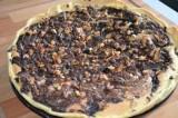 Tarte aux noix et chocolat de Sylvie